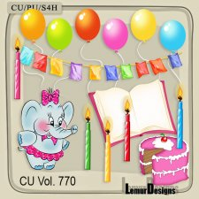 CU Vol 770 Birthday by Lemur Designs