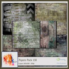 Papers Pack 138 EXCLUSIVE bymurielle