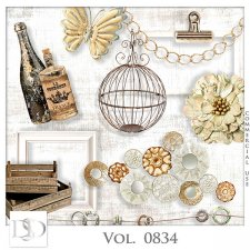 Vol. 0834 Vintage Mix by D's Design