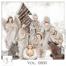 Vol. 0800 Nativity Mix by D's Design