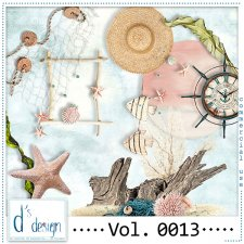 Vol. 0013 Beach Mix by Doudou Design