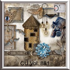 Vol. 881 Steampunk Mix by Doudou Design