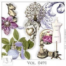 Vol. 0490 to 0494 Vintage Mix by D's Design
