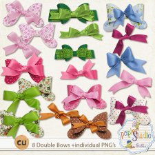 Double Bows EXCLUSIVE by PapierStudio Silke
