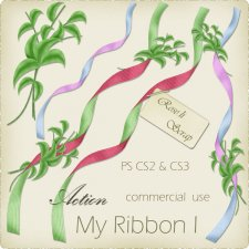 Action - My Ribbon 01 by Rose.li