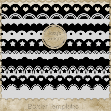 Border Layered Templates 1 by Josy