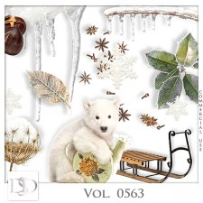 Vol. 0560 to 0565 Winter Mix by D's Design