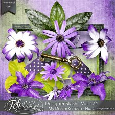 Designer Stash Vol 173-176 - My Dream Garden No. 1-4 - by Feli Designs