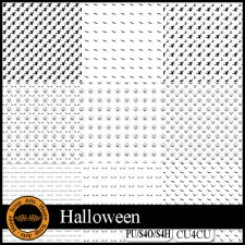 Halloween Overlays CU4CU by Happy Scrap Art