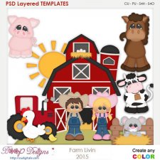 Farm Livin Element Templates