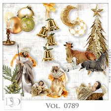 Vol. 0789 Christmas Nativity Mix by D's Design