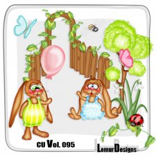CU Vol 095 Easter Mix by Lemur Designs