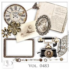 Vol. 0483 Vintage Mix by D's Design