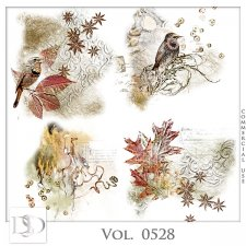 Vol. 0528 Autumn Accents by D's Design