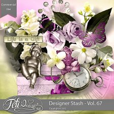 Designer Stash Vol 67 - CU by Feli Designs