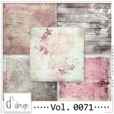 Vol. 0071 Vintage Autumn papers by Doudou Design