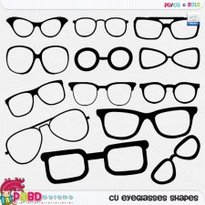 Eye glasses Shapes by Peek a Boo Designs