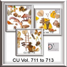 Vol. 711 to 713 Autumn Mix by Doudou Design