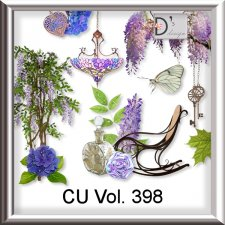 Vol. 398 Vintage Wisteria Mix by Doudou Design