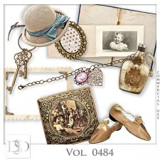 Vol. 0483 to 0487 Vintage Mix by D's Design