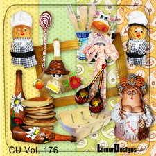CU Vol 176 Kitchen Mix by Lemur Designs