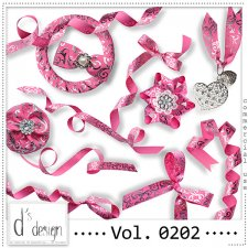Vol. 0202 Ribbons Mix by Doudou Design