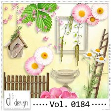 Vol. 0183 to 0187 Spring Nature Mix by Doudou Design