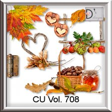 Vol. 706 to 710 Autumn Mix by Doudou Design