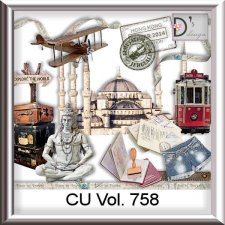 Vol 758 Travel World by Doudou Design