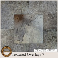 Exclusive Textured Overlays 7 CU4CU by Happy Scrap Art