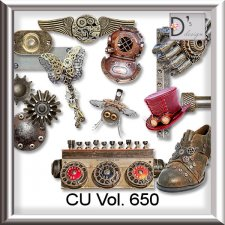 Vol. 650 Steampunk Mix by Doudou Design