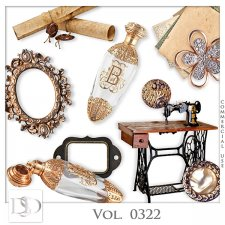 Vol. 0322 Vintage Mix by D's Design