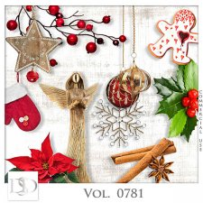 Vol. 0781 Winter Christmas Mix by D's Design