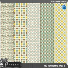 Pattern Template Paper vol 05 by Peek a Boo Designs