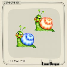 CU Vol 280 Snails by Lemur Designs