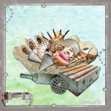 VOL 31 Seashell Elements EXCLUSIVE byMurielle