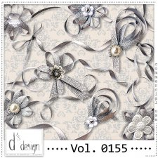 Vol. 0155 Ribbons Mix by Doudou Design
