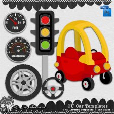 Car Layered Template by Peek a Boo Designs