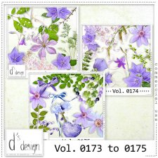 Vol. 0173 to 0175 Spring Nature Mix by D's Design