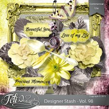 Designer Stash Vol 98 - CU by Feli Designs