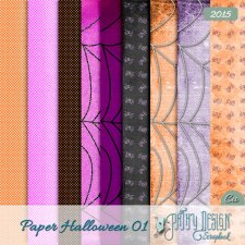 Paper Pack Halloween 01 Pathy Design