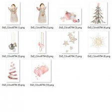Vol. 0794 Winter Christmas Mix by D's Design