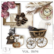 Vol. 0694 Vintage Mix by D's Design
