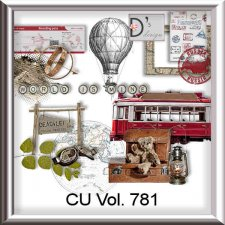 Vol 781 Travel World by Doudou Design