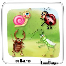 CU Vol 113 Animals Pack 12 by Lemur Designs