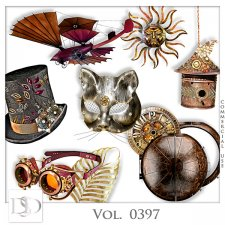 Vol. 0394 to 0397 Steampunk Mix by D's Design