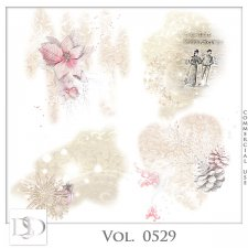Vol. 0529 Winter Christmas Accents by D's Design
