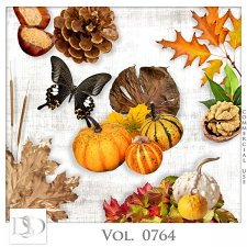 Vol. 0764 Autumn Nature Mix by D's Design