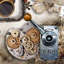 Vol. 910 Steampunk Mix by Doudou Design