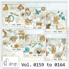 Vol. 0159 to 0164 Music & Masquerade Mix by Doudou Design